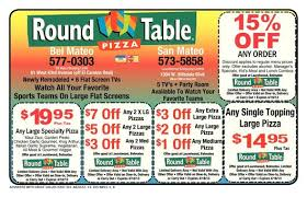 free round table pizza new roundtable pizza san mateo coupon redwood city coupons