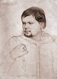 portraits in holbein style on behance