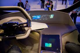 bmw dashboard at night bmw demonstrates holographic dash at ces 2017 news cars com