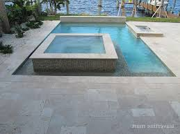 travertine around pool modern with deck tiles traditional wall and