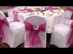 Diy Wedding Chair Covers How To Tie A Universal Satin Self Tie Chair Cover U2026 Pinteres U2026