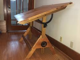 Drafting Table With Light Box Drafting Table With Light Box Images Diy Trestle Desk Homedezine