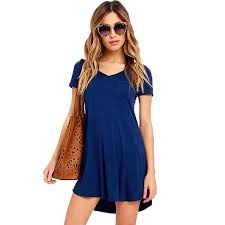 cheap summer dresses trendy pocket women t shirt dress 2017 new arrival cheap casual