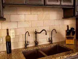 tiles backsplash kitchen ideas with dark brown cabinets high