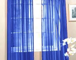 Royal Blue Curtains Royal Blue Curtains Etsy