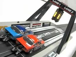 service central racing electric slot car set