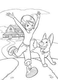 free printable cartoon coloring pages bolt for kids cartoon