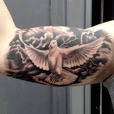flying dove tattoo designs for men at camera 60 lightning tattoo