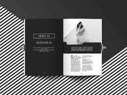 download desain majalah mock up magazine a4 oleh jan alfred barclay print on demand
