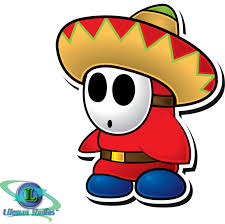 cartoon sombrero sombrero guy paper mario sticker star by shadowlifeman on