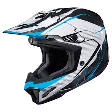 gopro motocross helmet mount hjc 2017 cl x7 blaze mc 2 mx helmet blue available at motocross giant