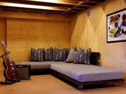 Unfinished Basement Ideas On A Budget Unfinished Basement Decorating Ideas Cheap Home Decor And