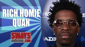 what kind of haircut do rich homie quan got rich homie quan addresses gay rumors updates father condition and