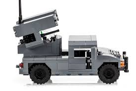 lego army humvee avenger an twq 1 hmmwv anti aircraft system kit available now