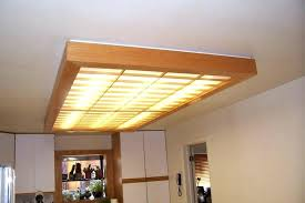 Replace Fluorescent Light Fixture In Kitchen Fluorescent Light Fixtures For Kitchen Replace Fluorescent Light