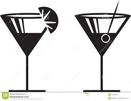 mixed drink clipart black and white clip art martini cliparts co