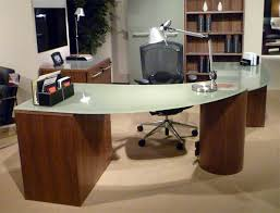 Modern Glass Top Desk Of Modern Glass Top Desk
