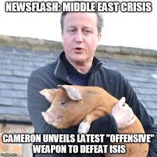 Cameron Meme - david cameron pig meme generator imgflip
