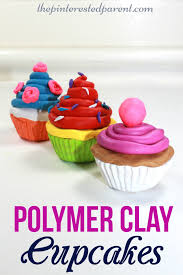 polymer clay cupcake craft u2013 the pinterested parent