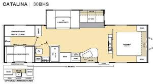 catalina rv floor plans used 2012 coachmen rv catalina 30bhs travel trailer at hitch rv