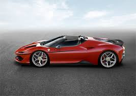 ferrari supercar ferrari stuns with debut of new ferrari j50 supercar