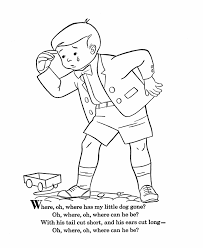 nursery rhymes colouring pages free 1000 images about nursery