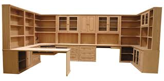 Unfinished Furniture Custom Home Office Liberty Series - Custom home office furniture