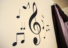28 wall stickers music notes decorative music butterfly wall stickers music notes music notes wall decals