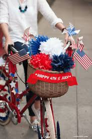 patriotic bicycle decor for independence day lia griffith