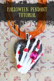 halloween jewelry diy resin obsession