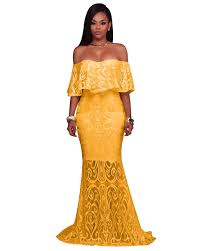 hongmiao elegant women long dress off shoulder wedding party maxi