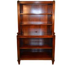 Mahogany Bookcase Used Nearly New U0026 Vintage Bookcases And Etageres Viyet
