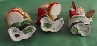 home interior porcelain figurines vintage homco home interior 3 porcelain figurines