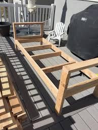 Diy Patio Furniture Diy Outdoor Furniture Honeybear Lane