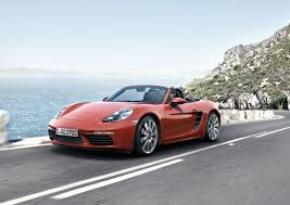 porsche boxster 0 60 2017 porsche 718 boxster and boxster s here they are officially