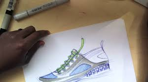 sketch a day 367 shoe sketch youtube