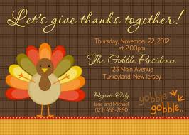 thanksgiving invitation wording free image card probyusa