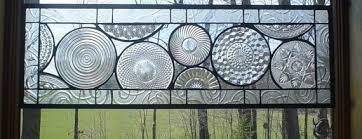 Vintage Transom Windows Inspiration This Beautiful Window Is Made From Vintage Plates