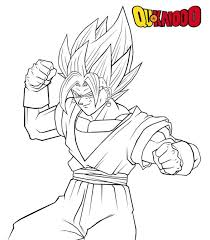 coloring pages marvelous vegito coloring pages dbz 20