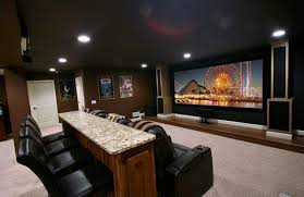 home theater in basement three monkeys theater and game room avs forum home theater