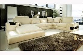 canapé d angle haut de gamme canapé angle en cuir vachette blanc