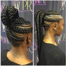 latest hair braids in kenya up do jumbo cornrow braids are the new hairstyle sensation in