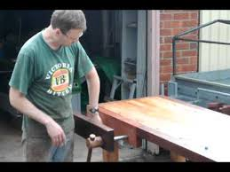 work bench with hovarter quick release wagon and face vises youtube