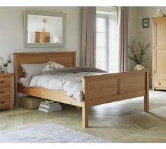 buy heart of house kent panel kingsize bed frame oak oak veneer at