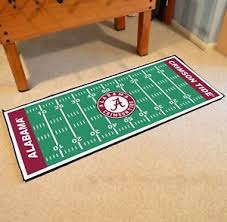 Football Field Area Rug Alabama Crimson Tide 30 X 72 Football Field Runner Area Rug