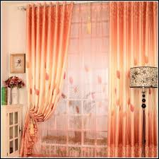 Orange Striped Curtains Fancy Orange And Gray Curtains And Orange And Grey Striped