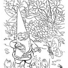 fairy garden coloring kids drawing coloring pages