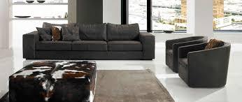 Gamma Leather Sofa by Contempo Designs
