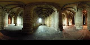 Mont Saint Michel Interior Mont Saint Michel Abbaye Mapping Gothic France