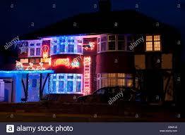 stunningstmas lights outdoor uk semi detached house